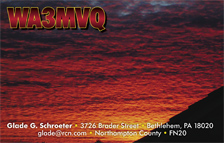 QSL Card Style QSL39 - Photographer: Simon Eugster. This file is licensed under the Creative Commons Attribution ShareAlike 3.0