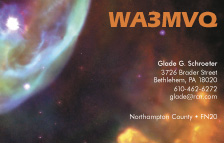 QSL Card Style QSL8, The Bubble Nebula (NGC 7635)