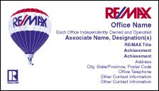RM6 REMAX White Business Card w Realtor Logo